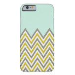 caseiPhone 6 caseiPhone 6 caseYellow & Gray Chevro iPhone 6 Case