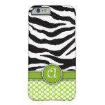 caseiPhone 6 caseMongrammed Zebra PrintiPhone 6 ca iPhone 6 Case