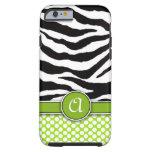 caseiPhone 6 caseMongrammed Zebra PrintiPhone 6Tou iPhone 6 Case