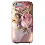 caseiPhone 6 casepink rose bouquet with ribboniPho iPhone 6 Case
