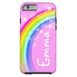 caseiPhone 6 caseYour name 4 letter rainbow light  iPhone 6 Case
