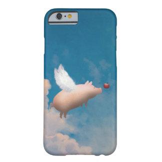caseiPhone caseflying 6 Ca del iphone del cerdo