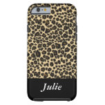 caseLeopard AnimalMonogrammed Casecase iPhone 6 Case