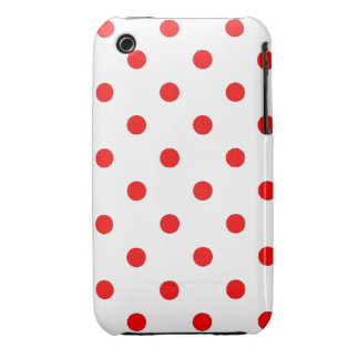 casemate #1  dots_red iPhone 3 cover