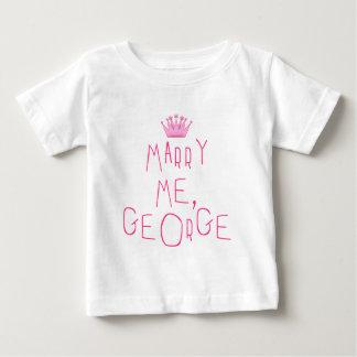 Cáseme, George Playera De Bebé