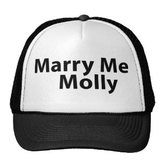 Cáseme gorra de Molly