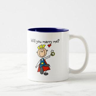 Cáseme las camisetas y los regalos de la oferta de taza