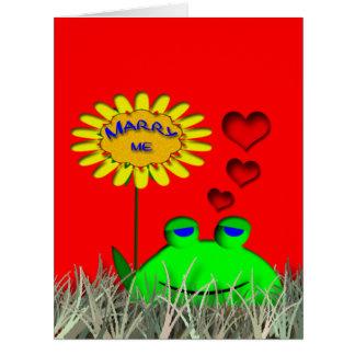 Cáseme las tarjetas del el día de San Valentín