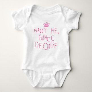 Cáseme príncipe George Body Para Bebé