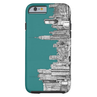 caseNYC in turquoise greencase iPhone 6 Case