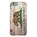 caseOld Wooden California Flagcase iPhone 6 Case