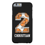 casePersonalized Basketball Number 2case iPhone 6 Case