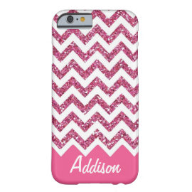 casePink Glitter Chevron Name BLING Casecase iPhone 6 Case