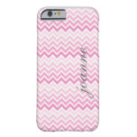 casePink Ombre Chevron Personalized I Phone 5 Case iPhone 6 Case