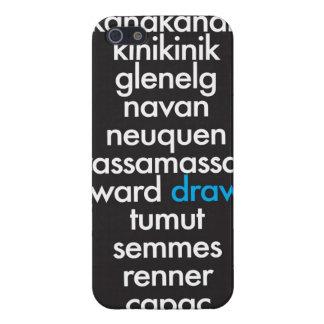 Casero de los Palindromes iPhone 5 Carcasa