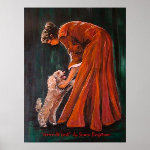 """""""Casero en el último"""" por Susan Bergstrom Poster"""