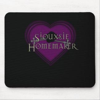 Casero Purple Heart de Siouxsie Alfombrilla De Ratones
