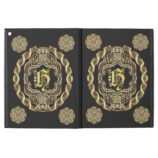 Cases All iPad Monogram H pick your back color iPad Pro Case