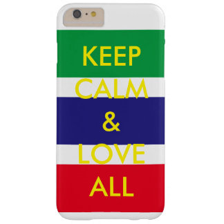 Cases keep calm love all text barely there iPhone 6 plus case