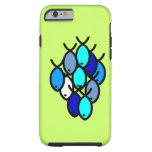 caseSchool of Christian Fish Symbols - Blue -case iPhone 6 Case
