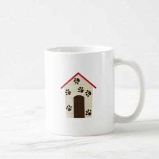 Caseta de perro taza de café