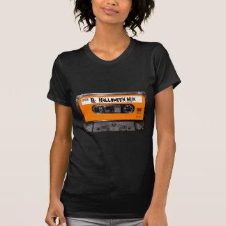 Casete anaranjado de los años 80 de la etiqueta camisetas