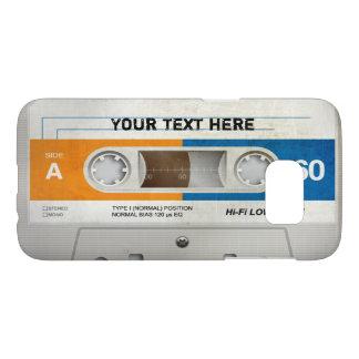 Casete audio compacto retro el | DJ Funda Samsung Galaxy S7