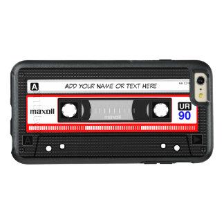 Casete audio moda retra divertida de Mixtape de la Funda Otterbox Para iPhone 6/6s Plus