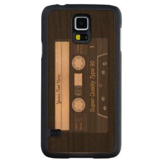Casete audio retro MixTape Funda De Galaxy S5 Slim Cerezo