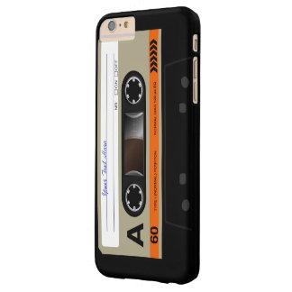 Casete audio retro MixTape Funda De iPhone 6 Plus Barely There