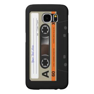 Casete audio retro MixTape Funda Samsung Galaxy S6