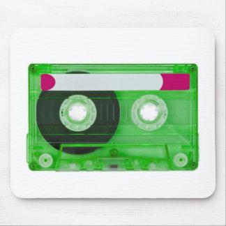 casete compacto audio alfombrilla de ratón