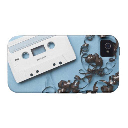 Casete con la cinta enredada iPhone 4/4S carcasa