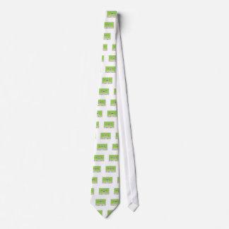 Casete de cinta corbatas personalizadas