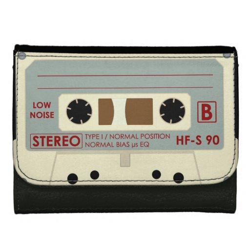 Casete de cinta de audio