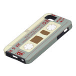 Casete de cinta de audio iPhone 5 protector