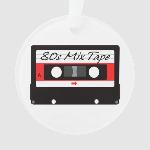 casete de cinta de la mezcla de la música 80s