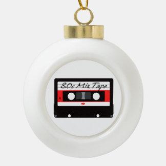 casete de cinta de la mezcla de la música 80s adorno