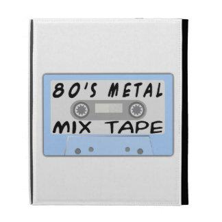 casete de cinta de la mezcla del metal 80s