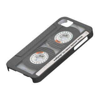 Casete de encargo Mixtape iPhone 5 Case-Mate Fundas