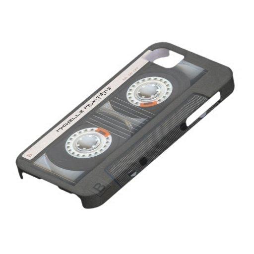 Casete de encargo Mixtape iPhone 5 Case-Mate Funda