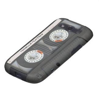 Casete de encargo Mixtape Galaxy S3 Protectores