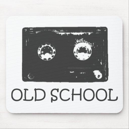 ¡Casete de la escuela vieja! Tapetes De Raton