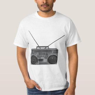 Casete de radio de Jambox del arenador del ghetto Playera