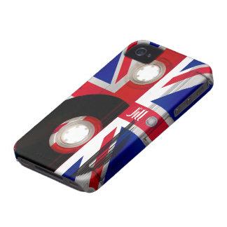 Casete de Union Jack Case-Mate iPhone 4 Cárcasas
