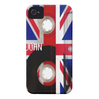 Casete de Union Jack Case-Mate iPhone 4 Coberturas