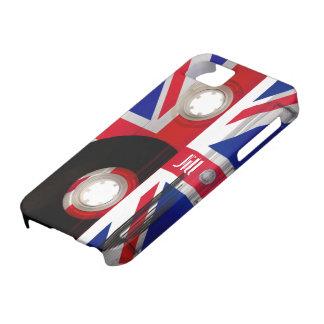Casete de Union Jack Funda Para iPhone 5 Barely There