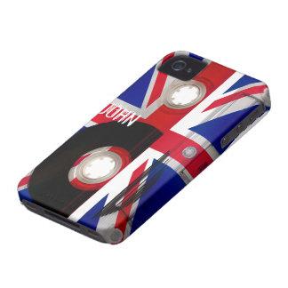 Casete de Union Jack iPhone 4 Case-Mate Protector