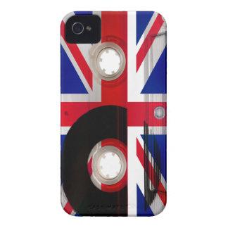 Casete de Union Jack iPhone 4 Case-Mate Protectores