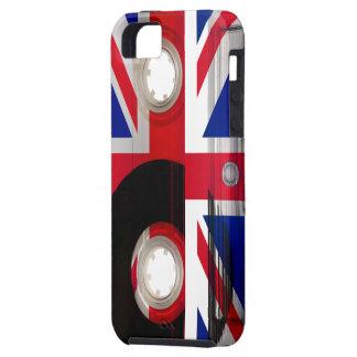 Casete de Union Jack iPhone 5 Carcasa